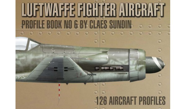 Luftwaffe Fighter Aircraft, Profile Book No 6