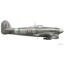 Hawker Typhoon MK IB, Denis Crowley-Milling, Spring 1943