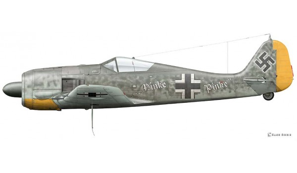 Focke Wulf Fw 190 A-5Y, Major Hans Philipp