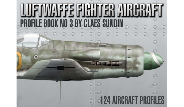 Luftwaffe Fighter Aircraft, Profile Book No 3
