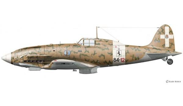 "Macchi C.202 ""Folgore"", Franco Lucchini, October 1942"