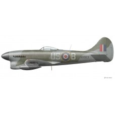 Hawker Tempest Mk V, Stanley A. Shepherd, March 28, 1945
