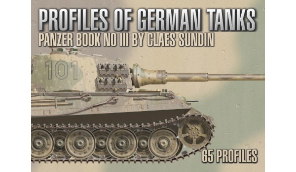 German Tanks, Profile Book No 3